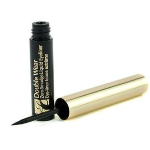 Estee Lauder Eye Care 0.1 Oz Double Wear Zero Smudge Liquid Eyeliner - Black For Women