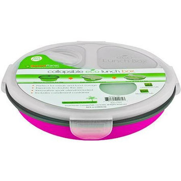 Smart Planet Ec34R3P Pink Meal Kit Round Collapsible 34 Oz