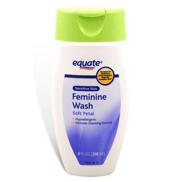 Equate - Feminine Wash, Sensitive Skin, Soft Petal, 9 oz (Compare to Summer's Eve)