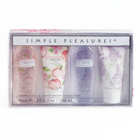 Simple Pleasures 4-pc. Shower Gel & Hand Cream Set, Ovrfl Oth