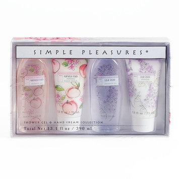 Simple Pleasures 4-pc. Shower Gel & Hand Cream Set, Ovrfl Oth
