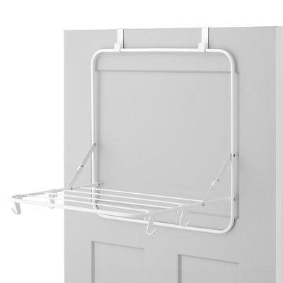 Whitmor Over The Door Drying Rack, White
