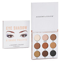 Academy of Colour 9 Shade Eyeshadow Palette, Multicolor