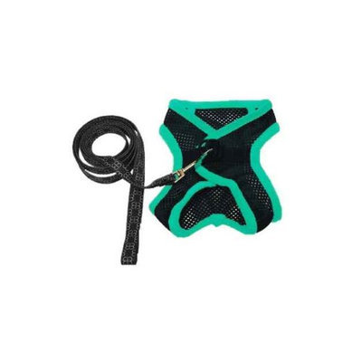 EGR AISS S GR Small Harness and Leash- Green