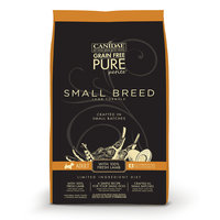 Canidae Grain Free Pure Petite Small Breed Adult Formula With Fresh Lamb Dry Dog Food, 3 lbs.