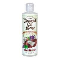 Pure Coconut Soap Lavender & Mint Nutribiotic 8 fl oz Liquid