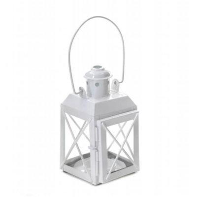 Zingz & Thingz 57071276 White Trolley Lantern
