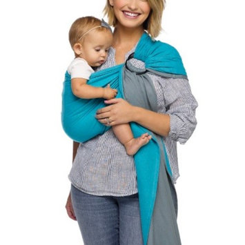 Moby Wrap Ring Sling Ocean Twist Baby Carrier - Teal