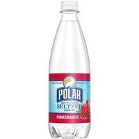 Polar Seltzer Water, Pomegranate, 20 Fl Oz, 24 Count