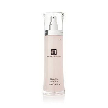 Brilliance New York - Rose Hip Collection Facial Toner, Promotes Healthy, Radiant Skin, 4.05 Ounces (120 ml)