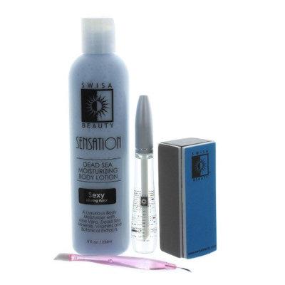 Swisa Beauty Sensation Natural & Healing Nail Kit for Men and Women - Moonlight