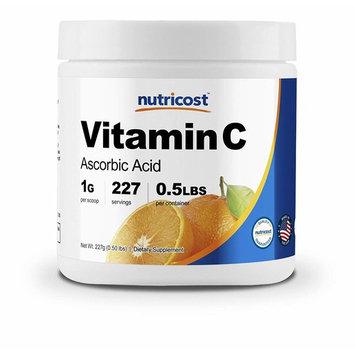Nutricost Pure Ascorbic Acid Powder (Vitamin C) .5 LBS