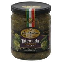 Casa Martinez Medium Fire Roasted Tatemada Salsa, 16 Oz (Pack of 6)