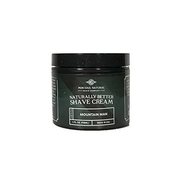 Mountain Man Shave Cream for a Naturally Better Shave Experience