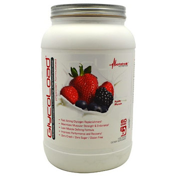 Metabolic Nutrition GLYCOLOAD FRUIT PUNCH 60/SERV