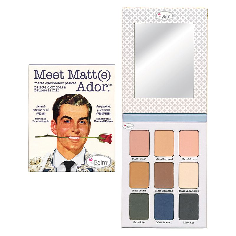 the Balm Meet Matt(e) Ardor Matte Eyeshadow Palette, Multicolor