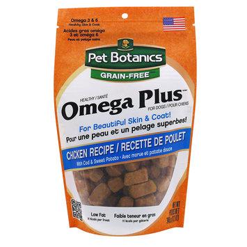 Pet Botanics Grain Free Healthy Omega Plus Chicken Dog Treats, 12 oz.