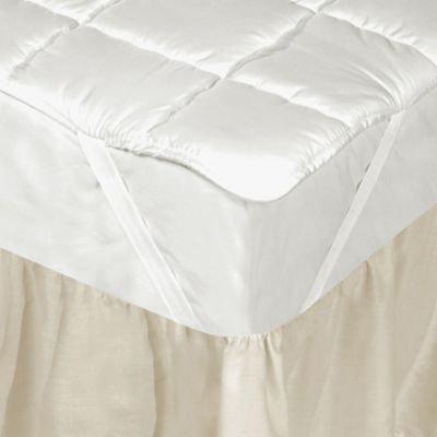 Downtown Company Silk Filled Mattress Pad