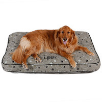 Drs. Foster And Smith Doctors Foster + Smith Personalized Ultimate Classic Sage Galaxy Paw Dog Bed, 48