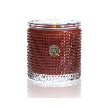 Pumpkin Spice Textured Glass Candle