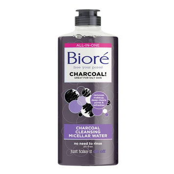 Biore Cleansing Micellar Water with Charcoal 10 fl oz