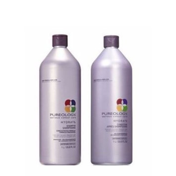 Hydrate Shampoo and Conditioner Set- For Dry Colour-Treated Hair | 33.8 ounces