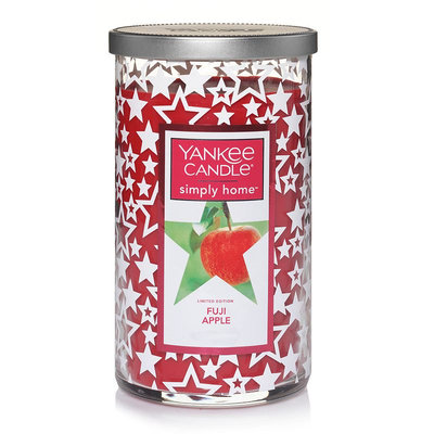 Yankee Candle simply home Fuji Apple 12-oz. Candle Jar, Dark Red