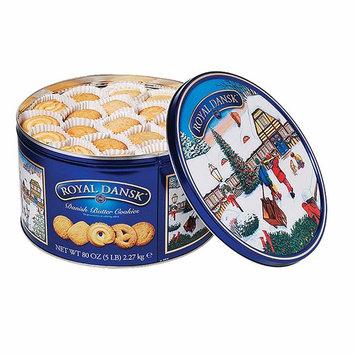Royal Dansk Danish Butter Cookie Assortment, 4 lbs. (pack of 6)