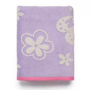 Kassatex Kids' Kassa Butterfly Bath Towel Bedding
