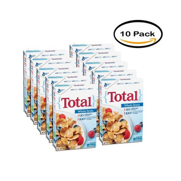 PACK OF 10 - Total Cereal Whole Grain 16 oz Box