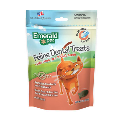 Smart N' Tasty Smart 'N Tasty Feline Dental Treats - Salmon