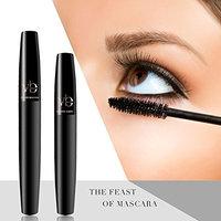 Best Fiber Lashes Mascara,3D Lash Fibers with Organic & Hypoallergenic Ingredients, Waterproof, Smudge-Proof & Long Lasting