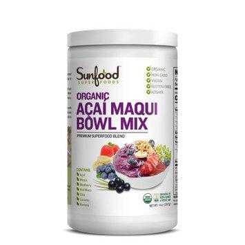 Sunfood Super Foods Organic Acai Maqui Bowl Mix