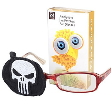 Plinrise Pure Cotton Amblyopia Eye Patch For Glasses,Treat Lazy Eye,Amblyopia And Strabismus,Children Eye Patch With Cartoon Sticker