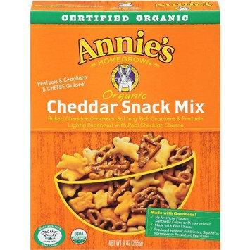 Annie's Homegrown Cheddar Organic Snack Mix Bunnies Cheddar 9 Ounce