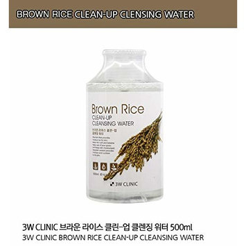 3W Clinic Clean-Up Cleansing Water (500ml / 16.9 oz)