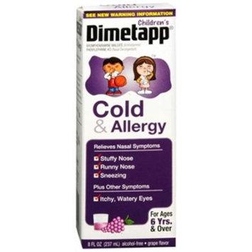 Dimetapp Ped C&Alrgyelx ( Size 8z