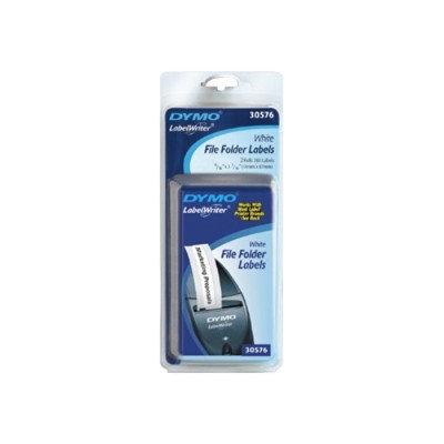 "Dymo 30576 LabelWriter 9/16"" White File Folder Labels"