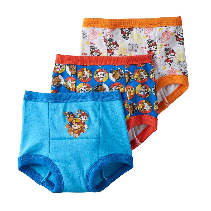 Toddler Boy Paw Patrol Chase, Marshall & Rubble 3-pk. Training Pants, Size: 3T, Multicolor