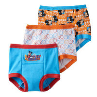 Handcraft 3-Pk. Mickey Mouse Training Briefs, Toddler Boys (2T-4T)