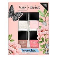 butter London Love Me Knot 4-pc. Nail Lacquer Collection, Multicolor