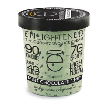 Enlightened, Mint Chocolate Chip Ice Cream, Pint (4 Count)