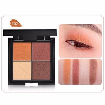 Binmer(TM) 4 Color Ladies Cosmetics Waterproof Lasting Pearls Eye Shadow Plate