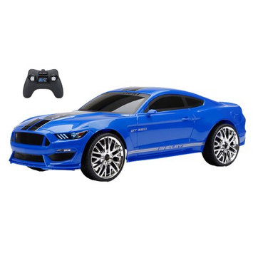 New Bright Industrial Co. Ltd. New Bright 1:12 Rc Chargers Mustang Shelby GT350 - Blue