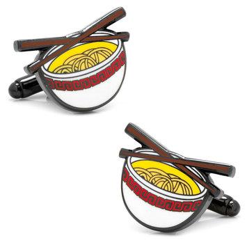 Cufflinks Inc. Cufflinks, Inc. Noodle Bowl Emoji Cufflinks
