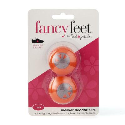 Fancy Feet by Foot Petals 2-pk. Sneaker Deodorizers, Orange
