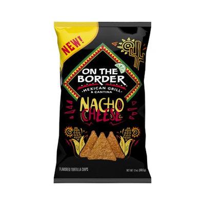 Truco Enterprises On The Border Nacho Cheese Chips 13oz