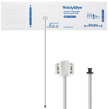 Welch Allyn WEL SOFT-10-1TP Flexiport Blood Pressure Cuff for Tri-Purpose Connector Small Adult - Pack of 20