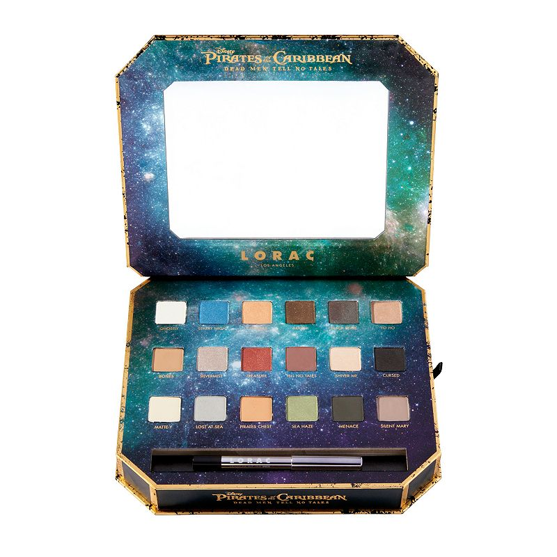 LORAC Multicolor Disney's Pirates of the Caribbean Eyeshadow Palette & Eyeliner