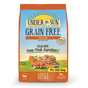 Under the Sun CD82192 Grain-Free Lamb Recipe Adult Dry Dog Food